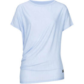 super.natural Yoga T-shirt ample Femme, skyway melange